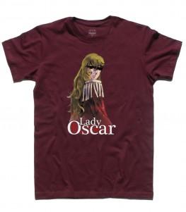lady oscar t-shirt uomo cartoni anni 80