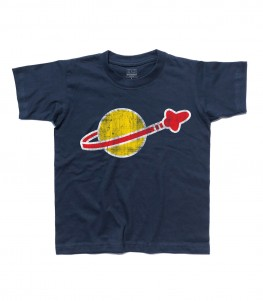 lego space t-shirt bambino vintage logo