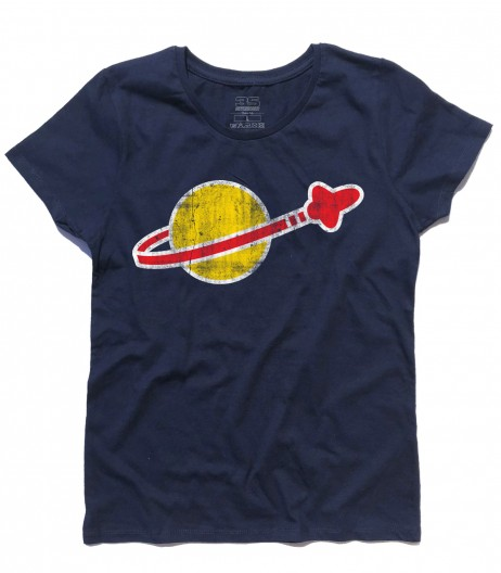 lego space t-shirt donna vintage logo