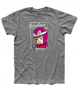 penelope pit stop t-shirt uomo ispirata alle wacky races