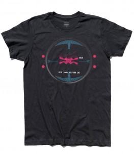 stay on target t-shirt uomo darth vader vision