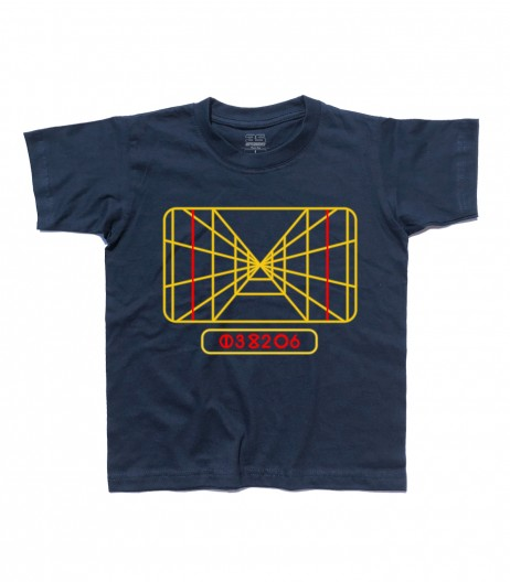 stay on target t-shirt bambino sky walker vision