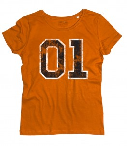 hazzard t-shirt donna ispirata al generale lee