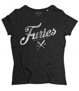 baseball furies t-shirt donna ispirata alla famosa gang del film the warriors