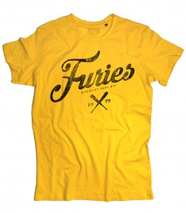 baseball furies t-shirt uomo ispirata alla famosa gang del film the warriors
