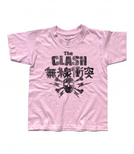 clash t-shirt bambino japanese tour