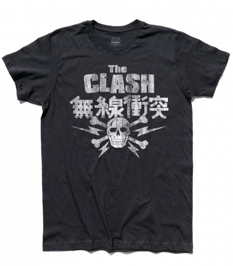 clash t-shirt uomo japanese tour