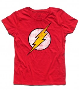 flash t-shirt donna vintage logo