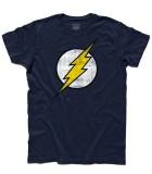 flash t-shirt uomo vintage logo
