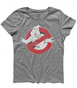 ghostbusters t-shirt donna vintage logo