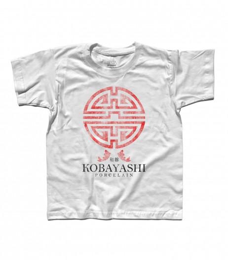 I soliti sospetti t-shirt bambino con logo Kobayashi porcellane