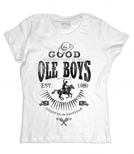 Good Ole Boys t-shirt donna ispirata al film cult blues brothers
