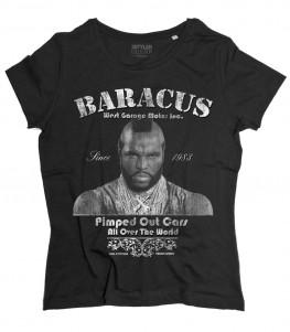 Mister T t-shirt donna raffigurante PE (BA) Baracus dell' A-Team