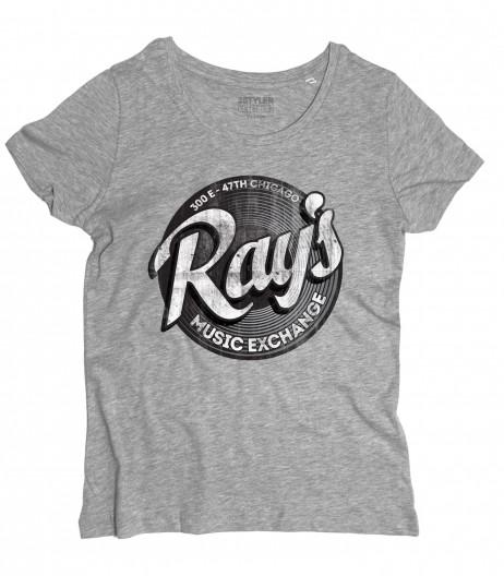 ray's t-shirt donna ispirata al film blues brothers