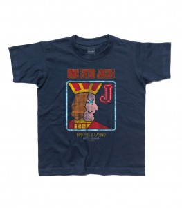 Twin Peaks t-shirt bambino raffigurante l'insegna dell' One Eyed Jaks