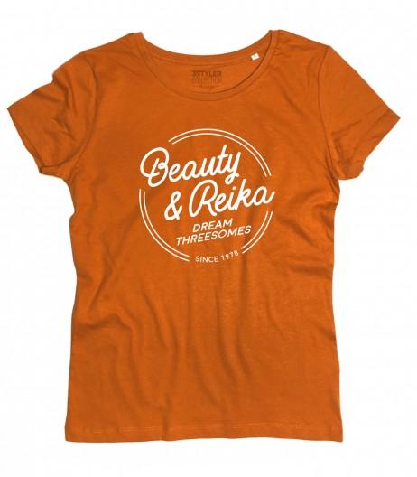 Daitarn 3 t-shirt donna Beauty e Reika