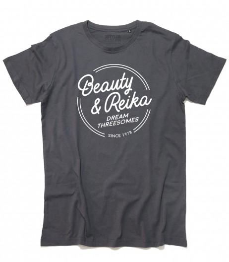 Daitarn 3 t-shirt uomo Beauty e Reika