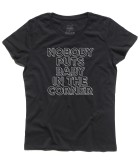 dirty dancing t-shirt donna nobody puts baby in a corner