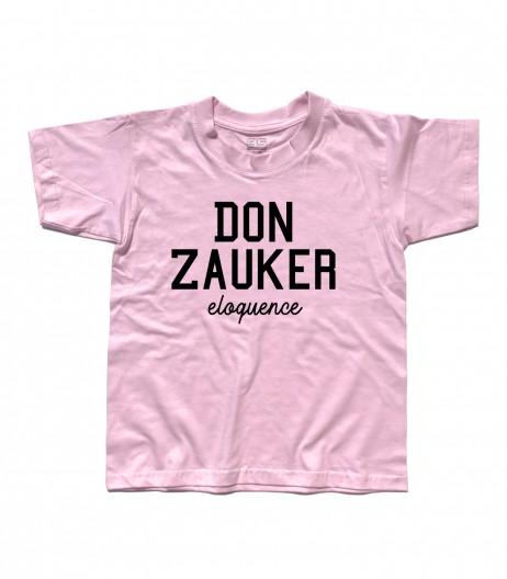 Daitarn 3 t-shirt bambino con scritta Don Zauker eloquence