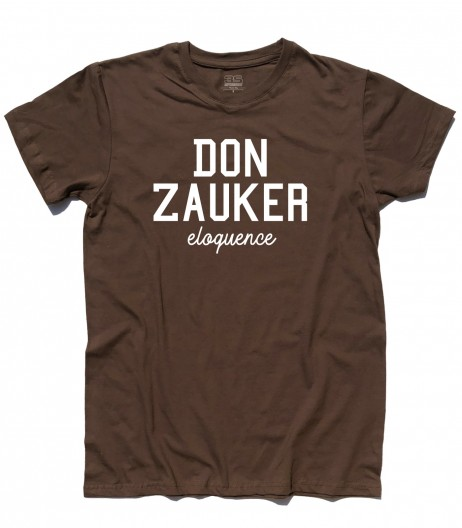 Daitarn 3 t-shirt uomo con scritta Don Zauker eloquence