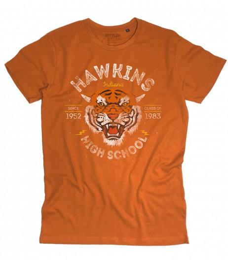 Hawkins High School t-shirt uomo ispirata a Stranger Things