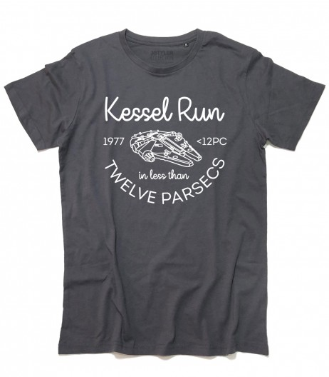 Star Wars t-shirt uomo ispirata all'impresa di Han Solo nellaKessel Run