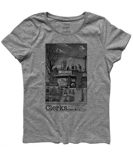 Clerks t-shirt donna ispirata al film omonimo