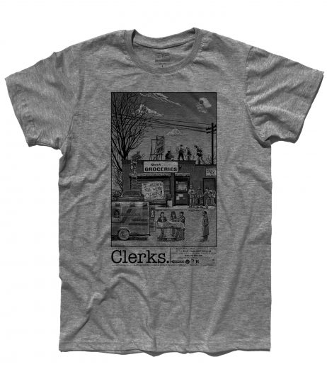 Clerks t-shirt uomo ispirata al film omonimo