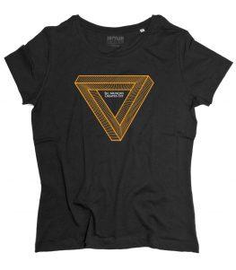 dark t-shirt donna sic mundo creato est