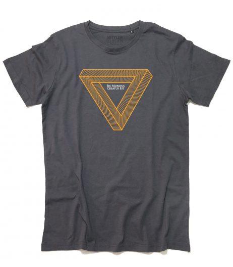 dark t-shirt uomo sic mundo creato est