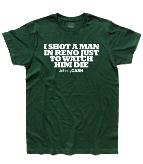 johnny cash t-shirt uomo folsom prisom blues