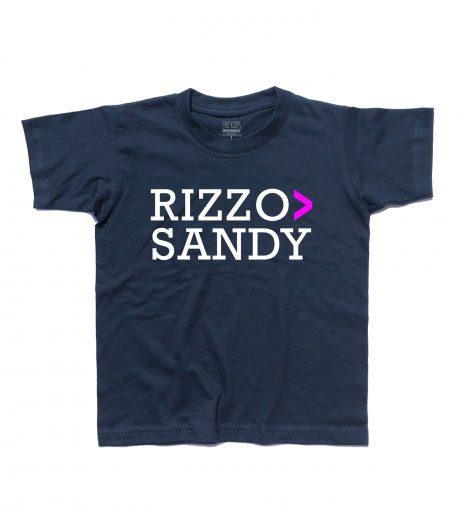 Grease t-shirt bambino con scritta Rizzo > Sandy