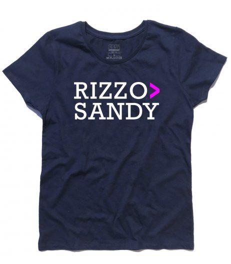 Grease t-shirt donna con scritta Rizzo > Sandy