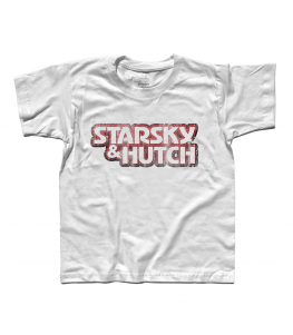Starsky & Hutch t-shirt bambino raffigurante il logo della serie antichizzato
