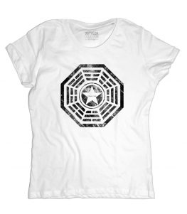 DHARMA Security t-shirt donna ispirata a Lost