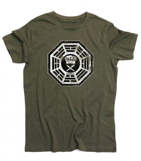 DHARMA Cafeteria t-shirt uomo ispirata a Lost