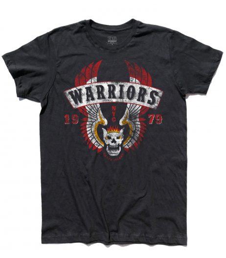T-shirt uomo raffigurante il logo che i Guerrieri della Notte avevano sul retro del giubbotto